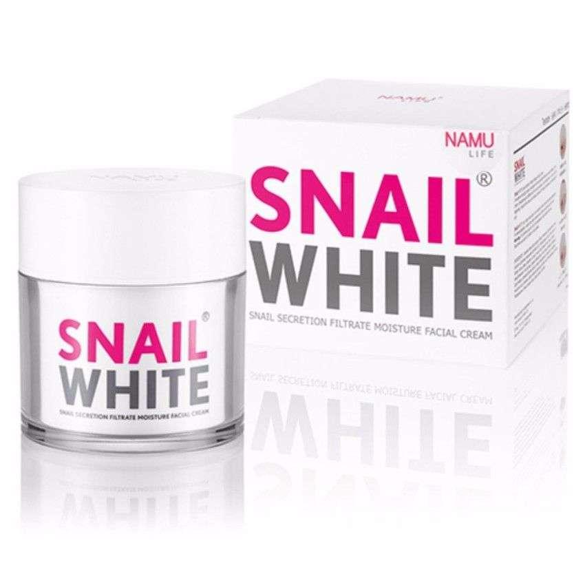 ครีมหน้าขาวที่ดีที่สุด Snail White Concentrate Facial Cream